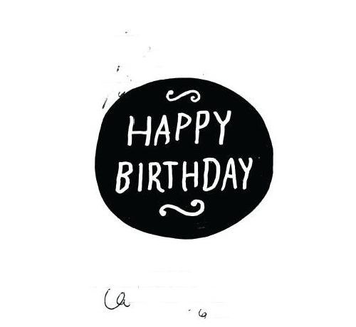 Transparent birthday tumblr